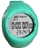 Fastime RW3 Copilote Watch - All Turquoise with Grey Display